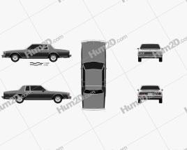 Chevrolet Caprice Landau 1985