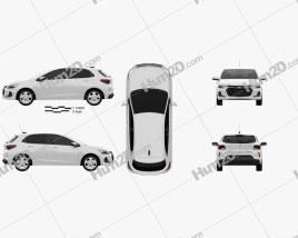 Chevrolet Onix Premier hatchback 2019