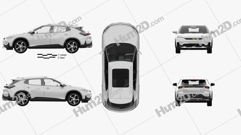 Chevrolet Menlo with HQ interior 2019 car clipart
