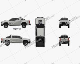 Chevrolet Colorado Double Cab ZR2 SEMA Truck 2021