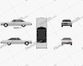 Chrysler Imperial LeBaron 4-door Hardtop 1971