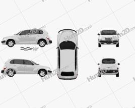 Chrysler PT Cruiser 2005 car clipart