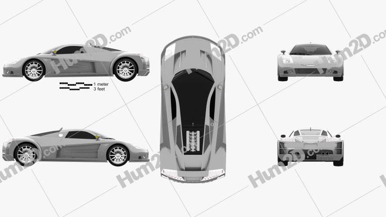 Chrysler ME 4-12 2004 car clipart