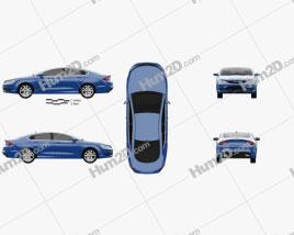 Chrysler 200 S 2015 Clipart