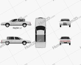 Chrysler Imperial 1989 car clipart