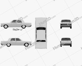 Chrysler Valiant 1966 car clipart
