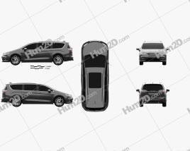 Chrysler Pacifica Pinnacle 2021