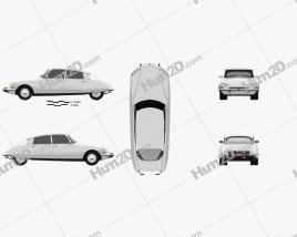 Citroen DS 4-door Sedan 1970