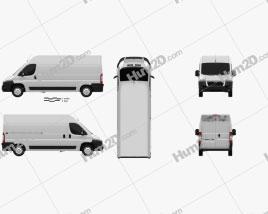Citroen Jumper Panel Van 2012 Clipart