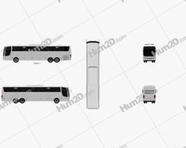 Comil Campione 3.65 Bus 2012 Clipart