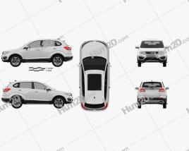 Cowin X5 2017 car clipart