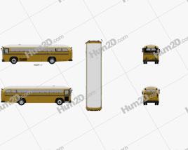 Crown Supercoach Bus 1977
