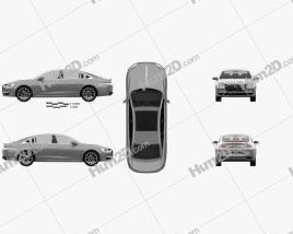 DS 9 2021 car clipart
