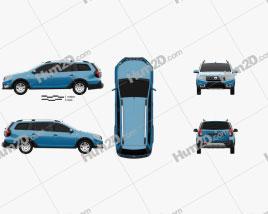 Dacia Logan MCV Stepway 2017 car clipart