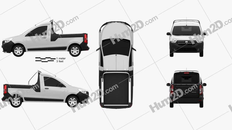 Dacia Dokker PickUp 2017