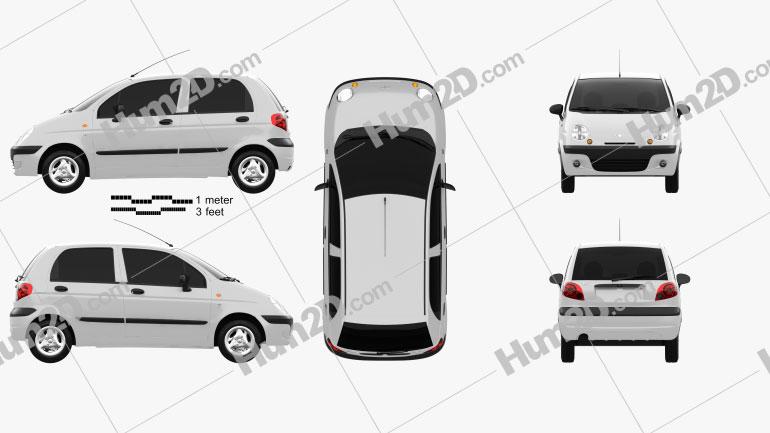 Daewoo Matiz M150 2011