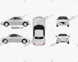 Daihatsu Copen 2011 car clipart