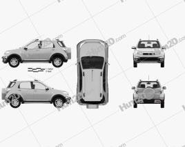 Daihatsu Terios 2013 Clipart