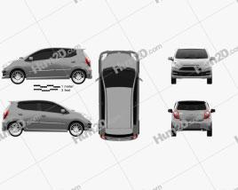 Daihatsu Astra Ayla Sporty 2013