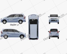 Daihatsu Xenia Sporty 2013 clipart