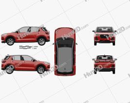 Daihatsu Rocky 2019 Clipart