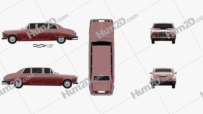 Daimler DS420 1987