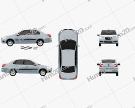 Datsun on-Do 2014 car clipart