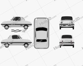 Datsun Baby 1964 car clipart