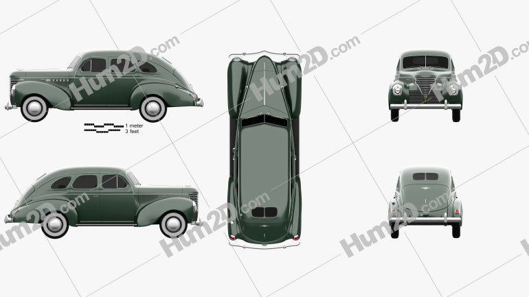 DeSoto Deluxe Touring Sedan 1939