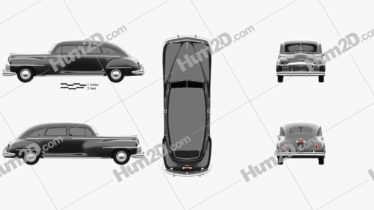 DeSoto Custom Suburban Sedan 1947