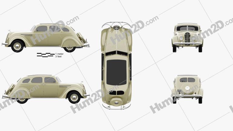 DeSoto Airflow Sedan 1935