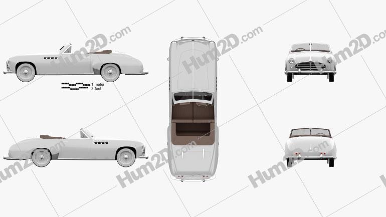 Delahaye 235 Chapron Cabriolet 1951