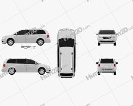 Dodge Grand Caravan 2011 Clipart