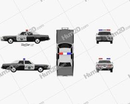 Dodge Monaco Police 1974