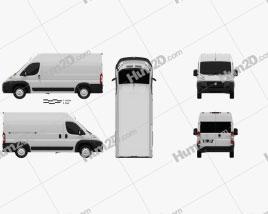 Dodge Ram Pro Master Cargo Van L2H2 2013