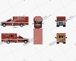 Dodge Ram LAFD Paramedic 2014
