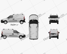 Dodge Ram Promaster City Cargo L2H1 2015 clipart