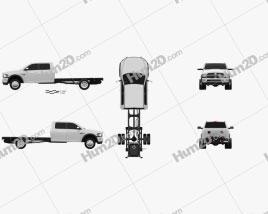 Dodge Ram Crew Cab Chassis L2 Laramie 2012 car clipart