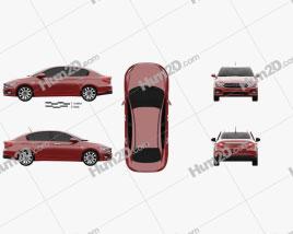 Dodge Neon (MX) 2016 car clipart