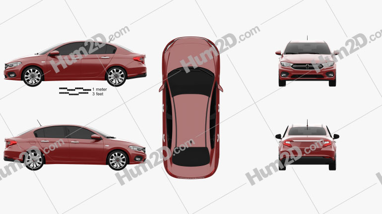 Dodge Neon (MX) 2016 Clipart Image