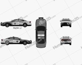 Dodge Charger Pursuit 2015