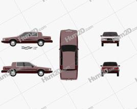 Dodge Dynasty 1993 car clipart