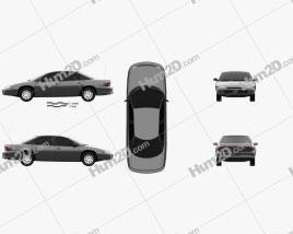 Dodge Intrepid 1993 car clipart