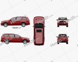 Dodge Durango RT 2020 Clipart