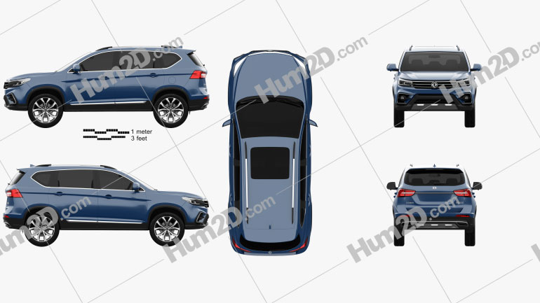 DongFeng Joyear X5 2016 car clipart