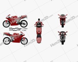 Ducati 748 Sport Bike