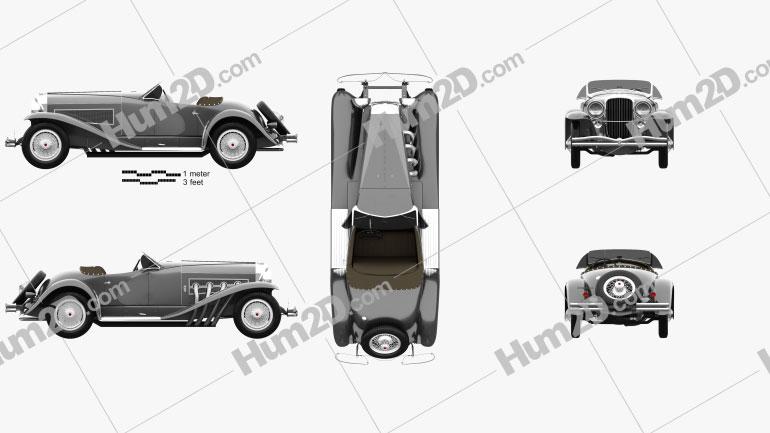 Duesenberg SSJ Roadster 1935