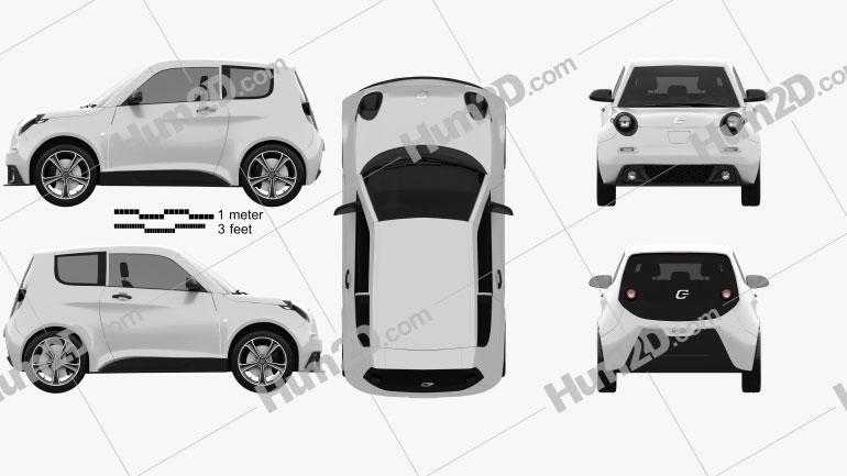 E.GO Life 2017 car clipart