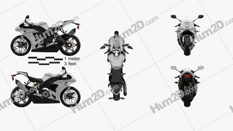 EBR 1190RX 2014 Moto clipart