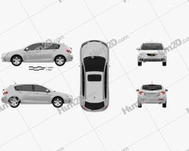 Emgrand EC7-RV 2010 car clipart